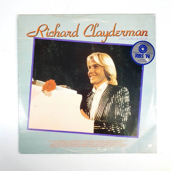 Disco de Vinil - Richard Clayderman - 1984