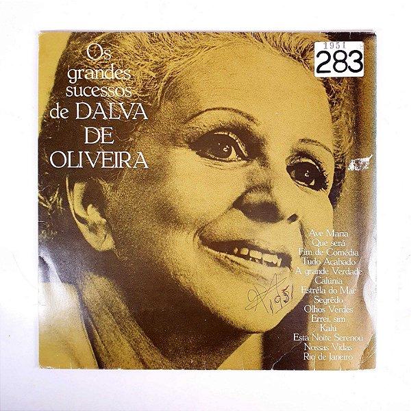 Disco de Vinil - Os Grandes Sucessos de Dalva de Oliveira