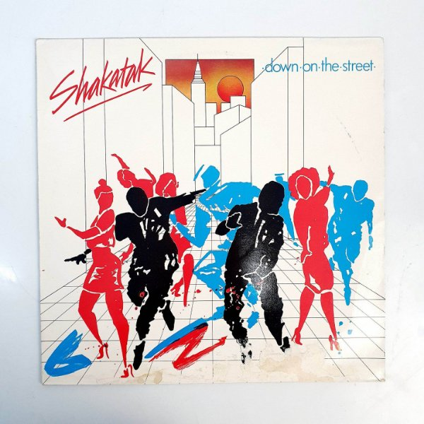 Disco de Vinil - Shakatak - Down On The Street