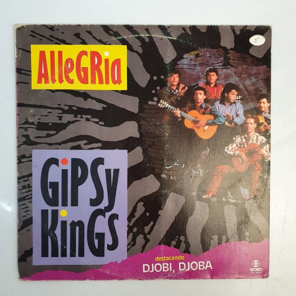 Disco de Vinil - Gipsy Kings - Allegria