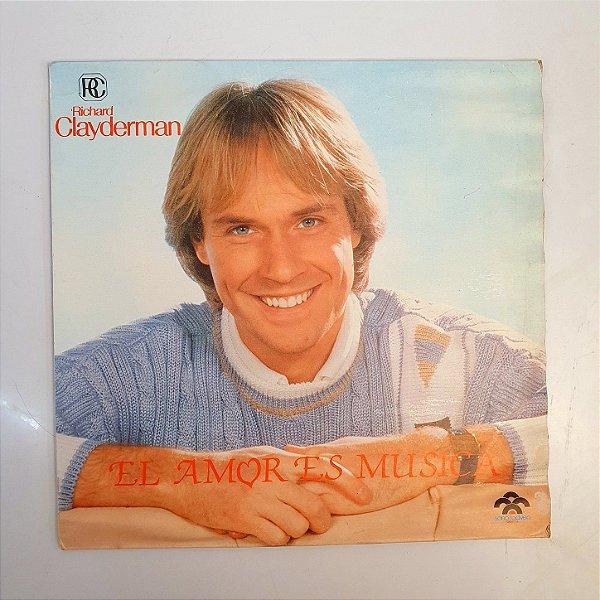 Disco de Vinil - Richard Clayderman - El Amor Es Musica