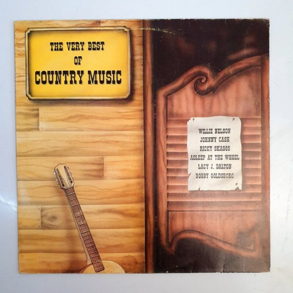 Disco de Vinil - The Very Best Of Country Music - 1980
