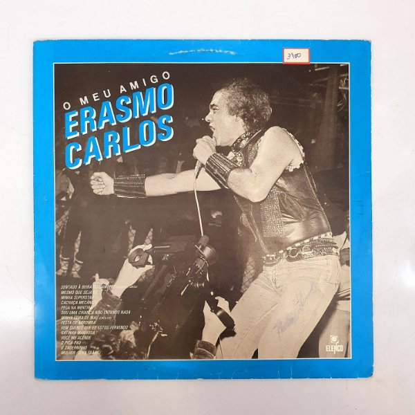 Disco de Vinil - Erasmo Carlos - O Meu Amigo