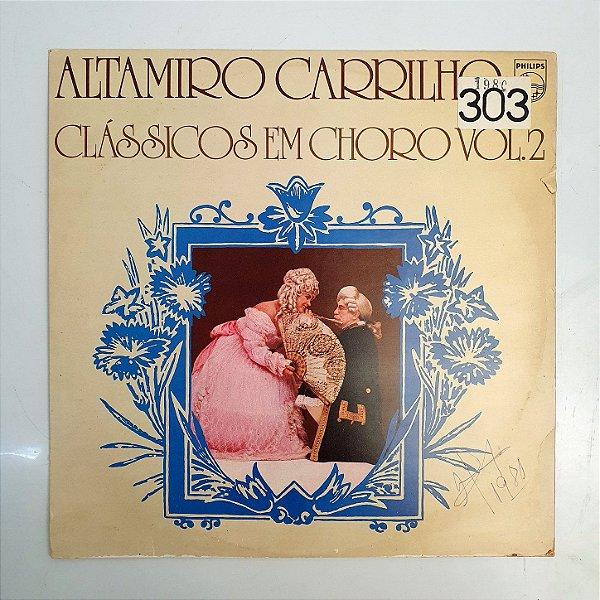 Disco de Vinil - Altamiro Carrilho - Clássicos Em Choro