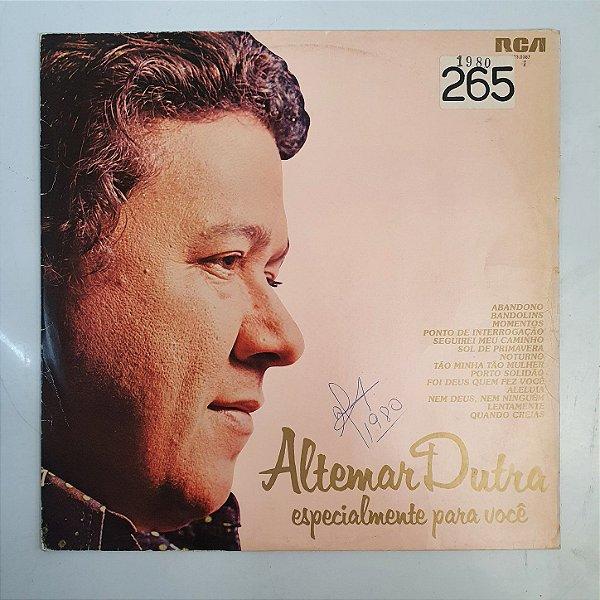 Disco de Vinil - Altemar Dutra - Especialmente Para Você