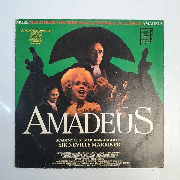 Disco de Vinil - Amadeus Sir Neville Marriner - 1985