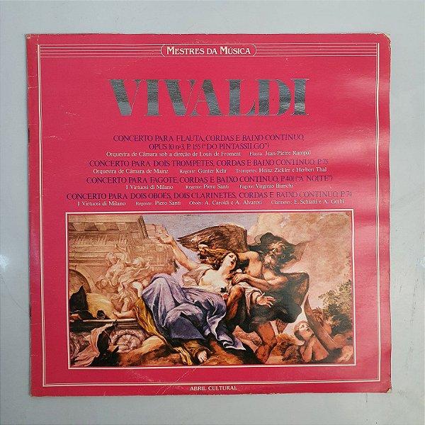 Disco Vinil - Vivaldi - Opus 10 Mestres Da Música