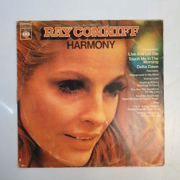 Disco de Vinil - Ray Conniff - Harmony - 1973