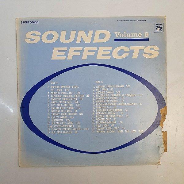 Disco de Vinil - Sound Effects - Volume 9 - 1971