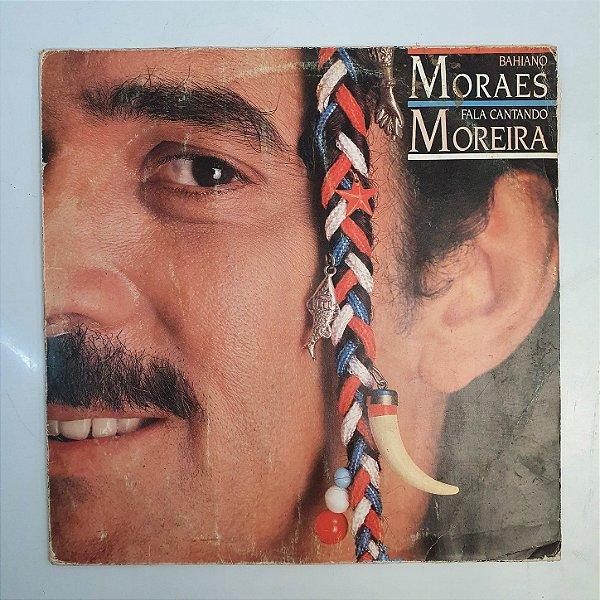 Disco de Vinil - Moraes Moreira - Bahiano Fala Cantando