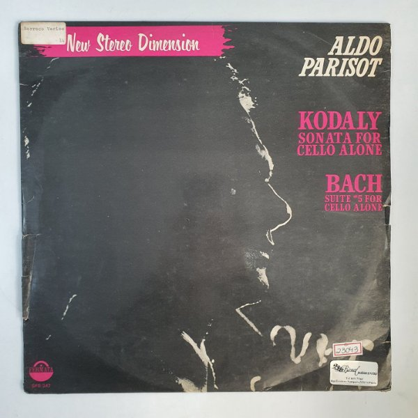 Disco de Vinil - Aldo Parisot - New Stereo Dimension