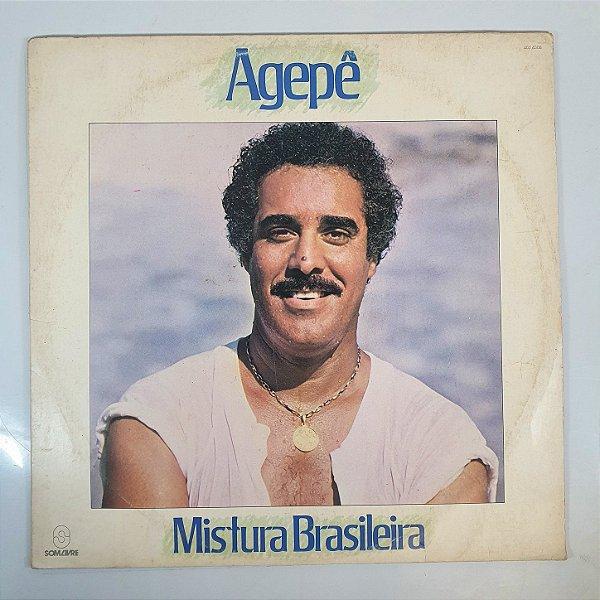 Disco de Vinil - Agepê - Mistura Brasileira - 1984