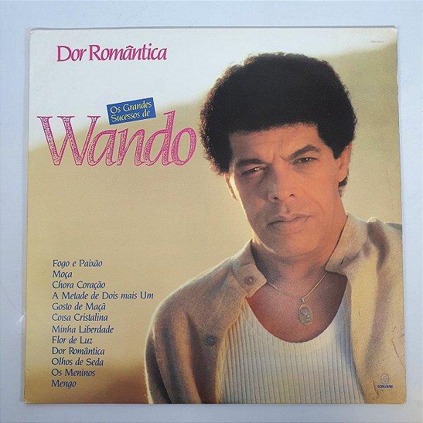Disco de Vinil - Wando - Dor Romântica - 1989