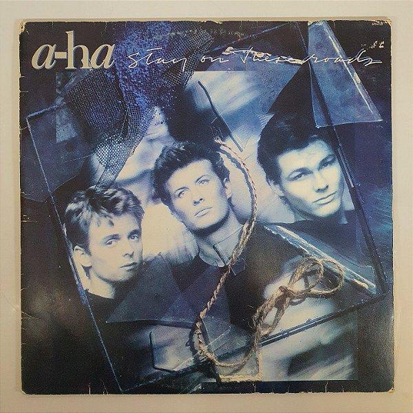 Disco de Vinil - A-HA - Stay on These Roads - 1988