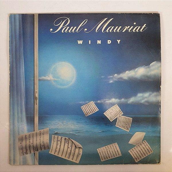 Disco de Vinil - Paul Mauriat - Windy - 1986