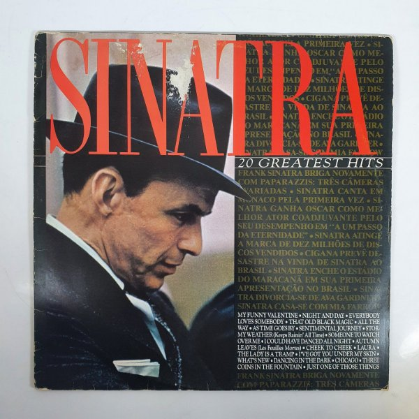 Disco de Vinil - Frank Sinatra - Greatest Hits - 1985