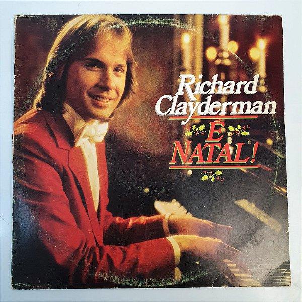 Disco de Vinil - Richard Clayderman - É Natal - 1990