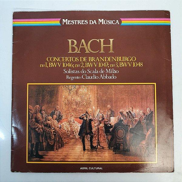 Disco de Vinil - Bach - Mestres da Música - 1979