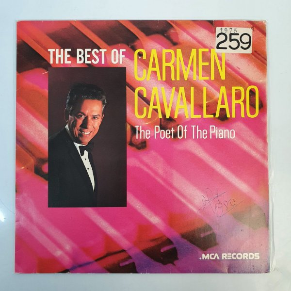 Disco de Vinil - Carmen Cavallaro - The Poet Of Piano - 1975