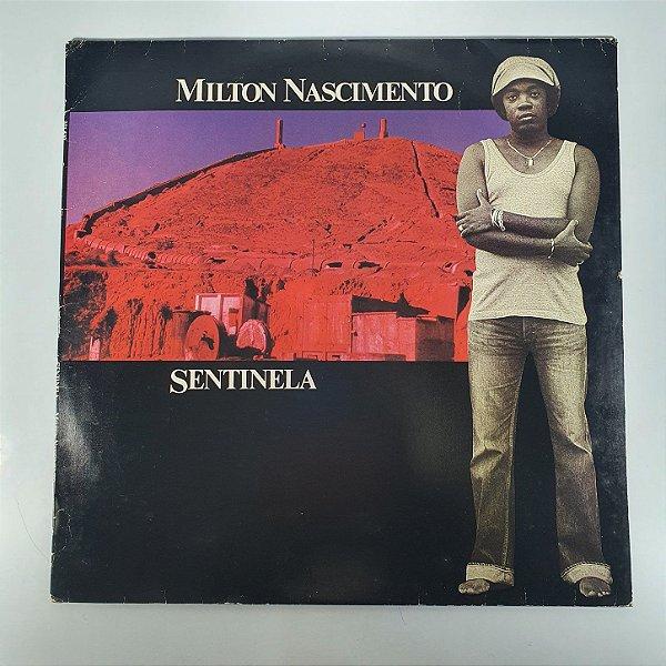 Disco de Vinil - Milton Nascimento - Sentinela - 1980