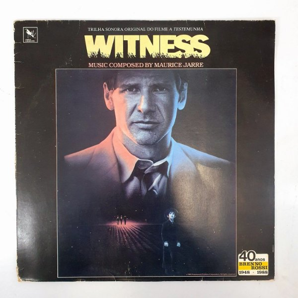 Disco de Vinil - Witness A Testemunha - Trilha Sonora