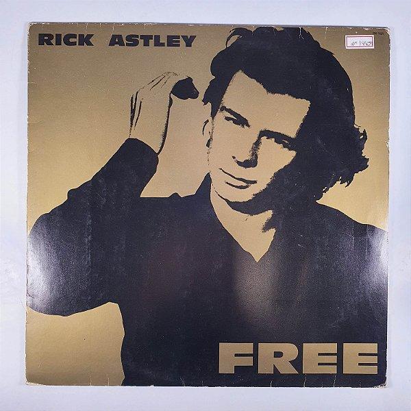 LP - Rick Astley - Free - 1991 - Com Encarte