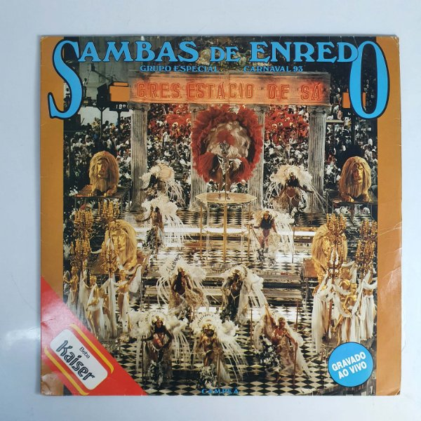 LP - Sambas Enredo Grupo Especial - Carnaval 93