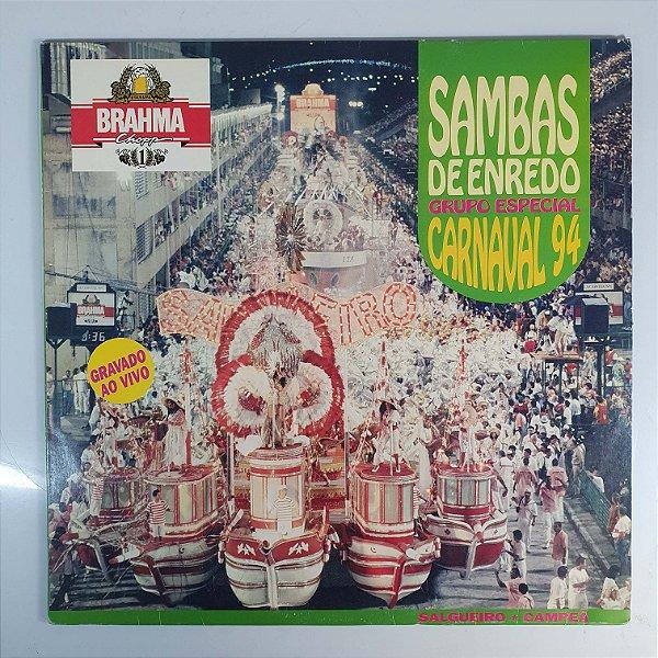LP -  Sambas De Enredo Grupo Especial - Carnaval 94