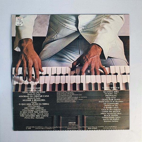 LP - Paulo Freire - Órgão + Batucada - 1978