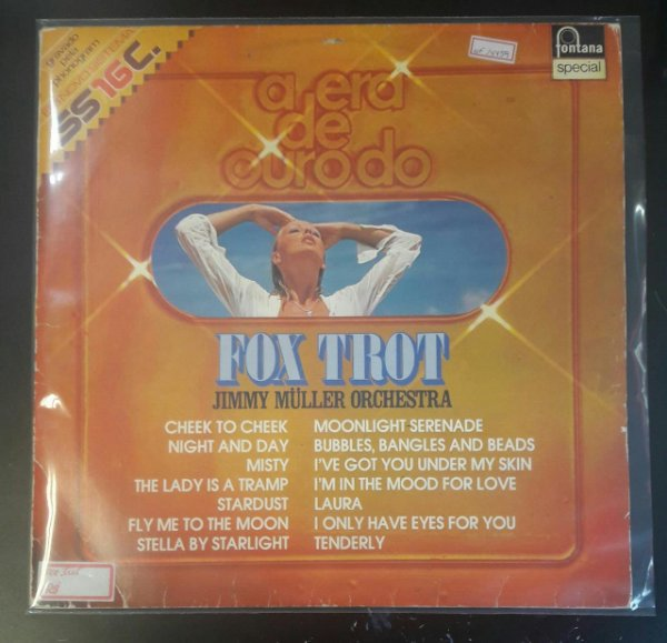 Lp - Jymmy Muller Orchestra - A Era De Ouro Do Fox Trot