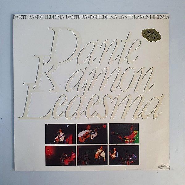 LP - Dante Ramon Ledesma - Para Que Cantes Comigo