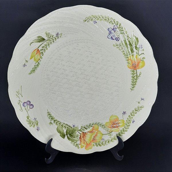 Prato para Bolo em Porcelana Noritake