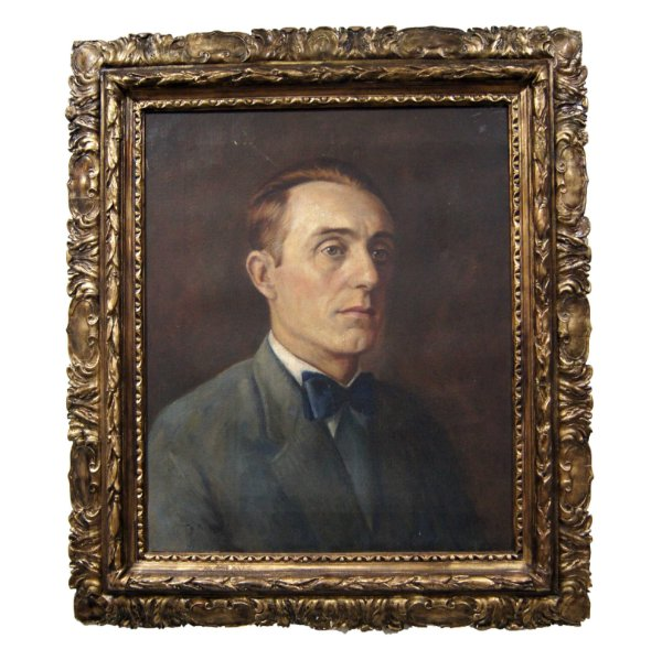 Quadro Pintura a Óleo Auto Retrato - Theodoro de Bona