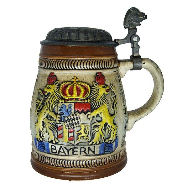 Caneca de Cerveja Alemão Deli Groceries BAYERN