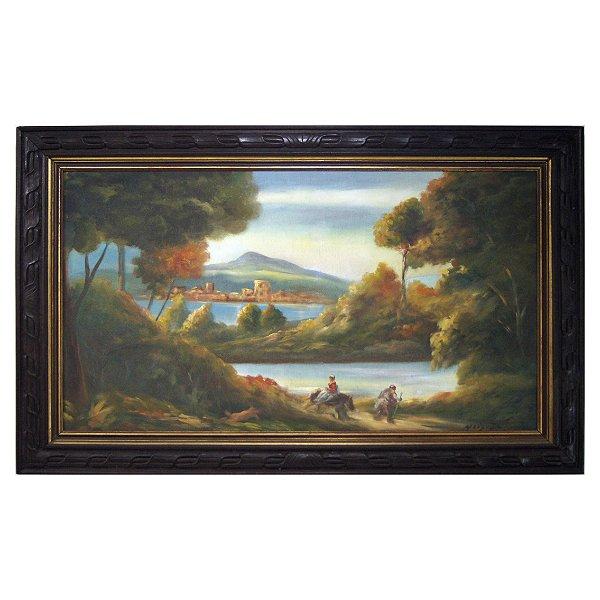 Quadro Pintura a Óleo Floresta - Meister