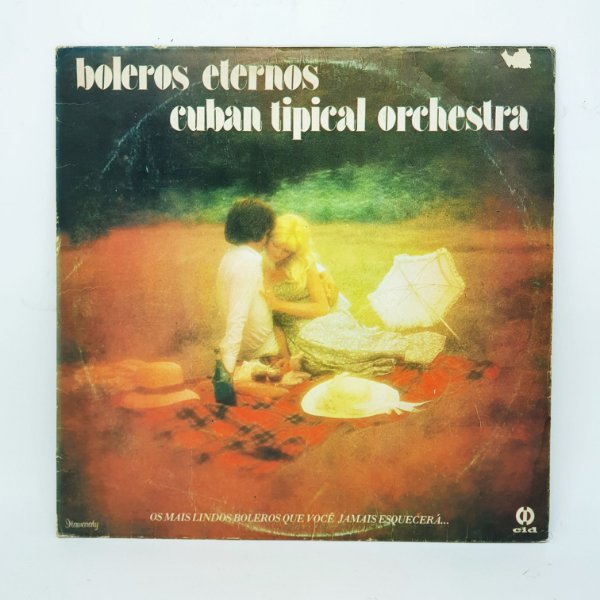 Disco de Vinil - Boleros Eternos - Cuban Tipical Orchestra