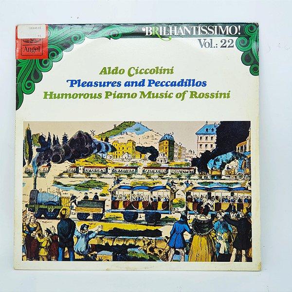 Disco de Vinil - Aldo Ciccoline - Brilhantissimo Vol 22