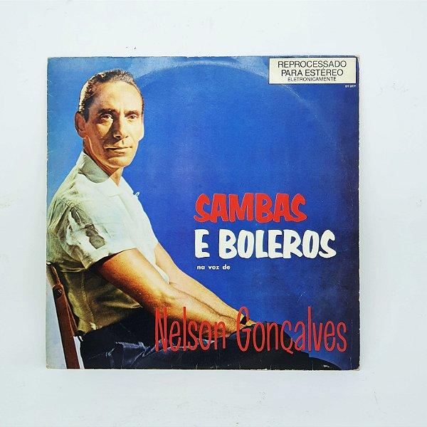 Disco de Vinil - Nelson Gonçalves - Sambas e Boleros