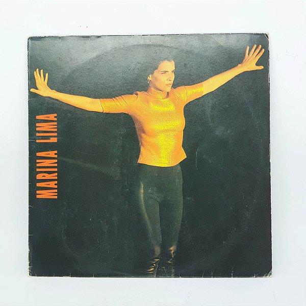 Disco de Vinil - Marina Lima - 1991