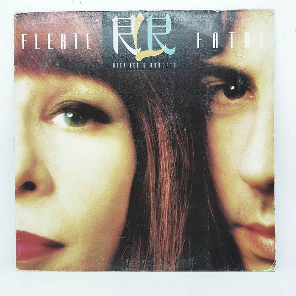 Disco de Vinil - Rita Lee e Roberto - Flerte Fatal