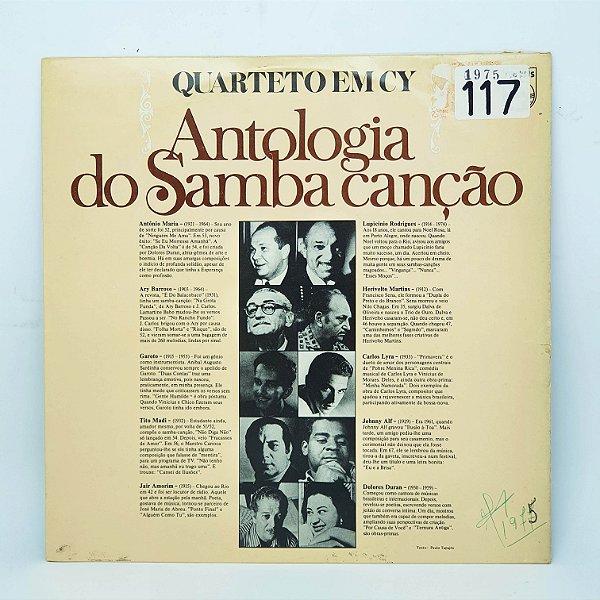Disco de Vinil - Quarteto em CY - Antologia do Samba Canção