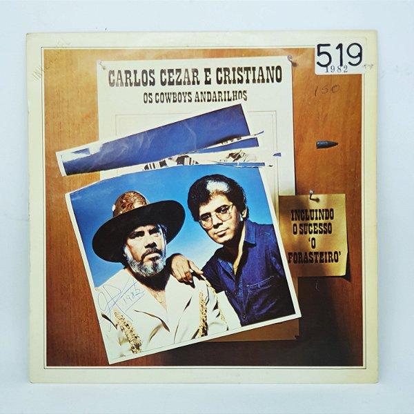 Disco de Vinil - Carlos Cezar e Cristiano - Os Cowboys Andar