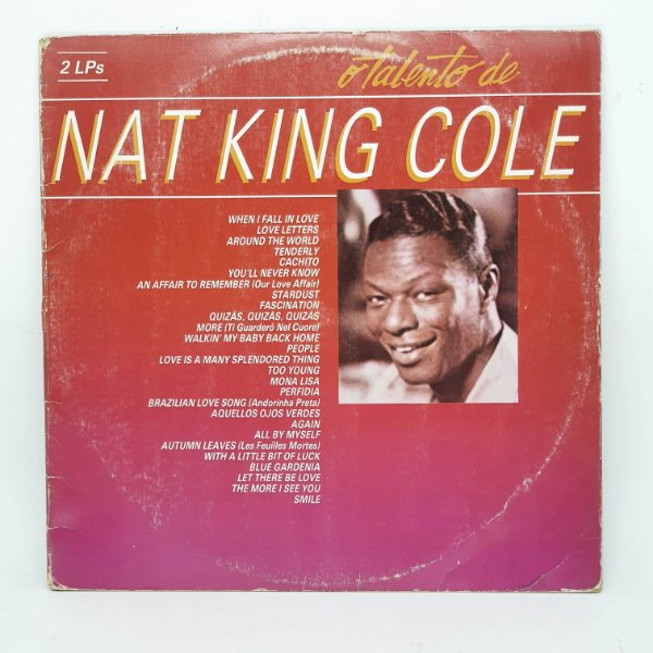 Disco de Vinil - Nat King Cole ( Falta 1 LP)