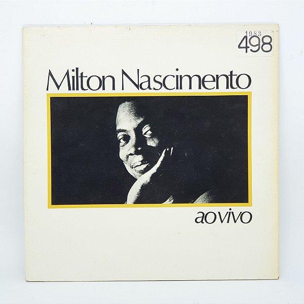 Disco de Vinil - Milton Nascimento - Ao Vivo