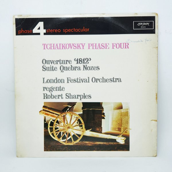 Disco de Vinil - Tchaikovsky - Overture