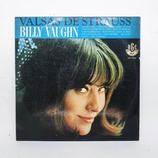 Disco de Vinil - Valsas de Strauss - Billy Vaughn