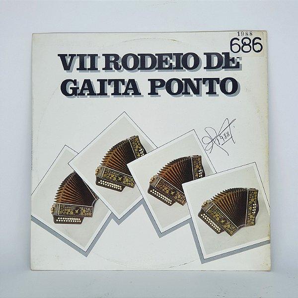 Disco de Vinil - VII Rodeio de Gaita Ponto