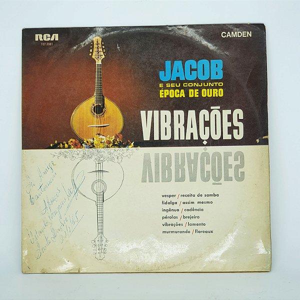 Disco de Vinil - Vibrações - Jacob E Seu Conjunto de Ouro
