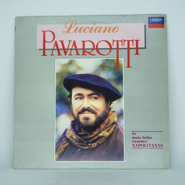 Disco de Vinil - Luciano Pavarotti - As Mais Belas Canções