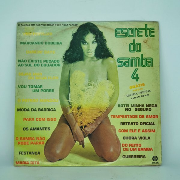 Disco de Vinil - Escrete do Samba Vol. 4